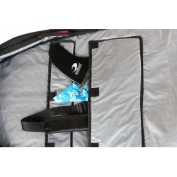 Boardbag Pro Reflective Rouge