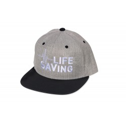 Wetiz Lifesaving Snapback Cap – Grey/Black
