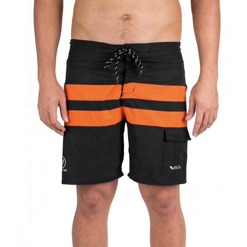 VOcean Paddle Board Shorts black/orange