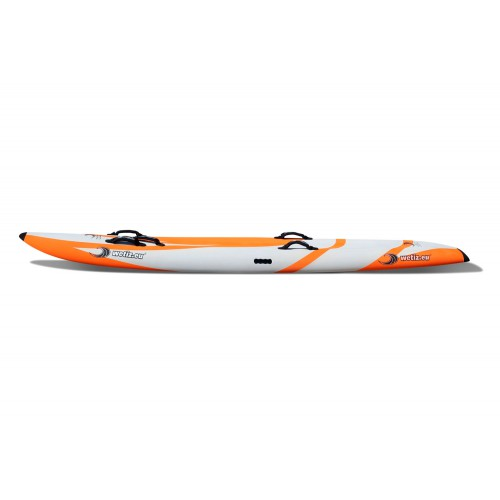 8'10 Nipper Board Wave - Soft Slick - Orange/Grau