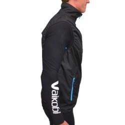 VDRY Lightweight Vest - Black/Cyan