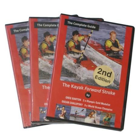 "DVD Skipaddling ""Kayak Forward Stroke"""