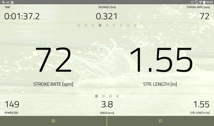 Kayak Paddel Ergometer Wetiz